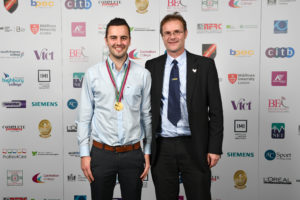 Gareth Jones SkillPLUMB Winner